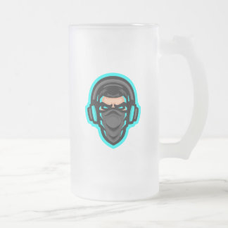 Garbo The Gamer 16oz Frosted Mug