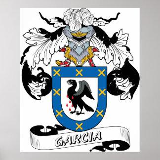 Garcia Family Crest Poster