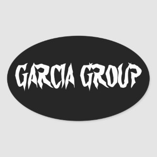 Garcia Group Oval Stickers