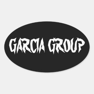 Garcia Group Oval Sticker