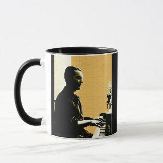 García Lorca at Piano Mug