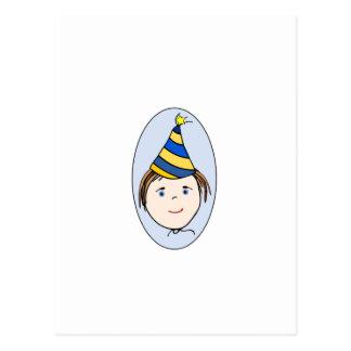 Garçon d anniversaire carte postale