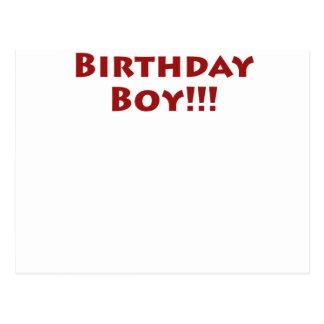 Garçon d'anniversaire ! cartes postales