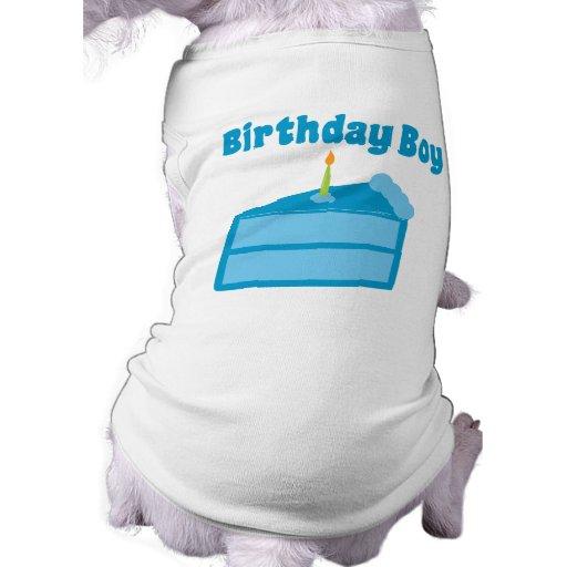 Garçon d'anniversaire vêtement pour chien