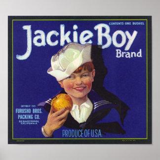 Garçon de Jackie Posters