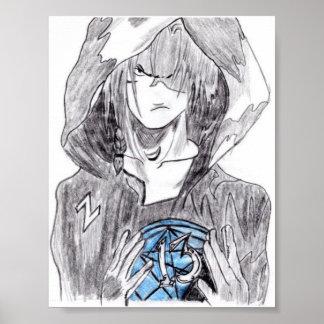 Garçon d'Emo Poster