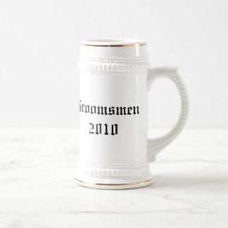 Garçons d'honneur personnalisés épousant le stein  tasse