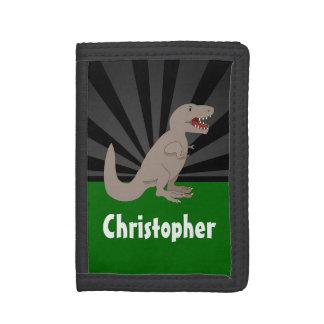 Garçons personnalisés de dinosaure de T-Rex