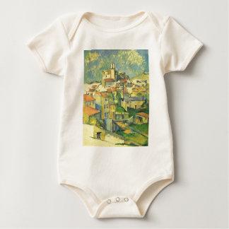 Gardanne by Paul Cezanne Baby Bodysuit