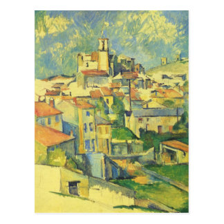 Gardanne by Paul Cezanne Postcard