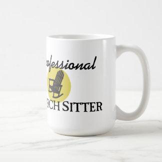 Garde d'enfants professionnelle de porche mug blanc