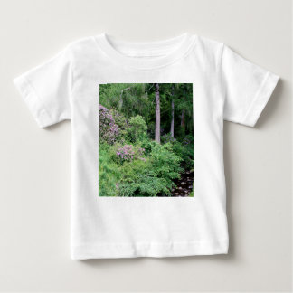 Garden and stream, highlands,Scotland Baby T-Shirt