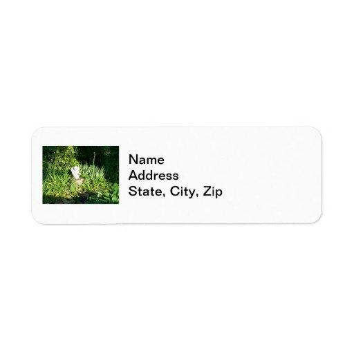 Garden Angel 2 Return Address Labels