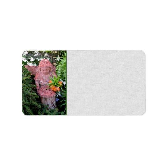 Garden Angel Label