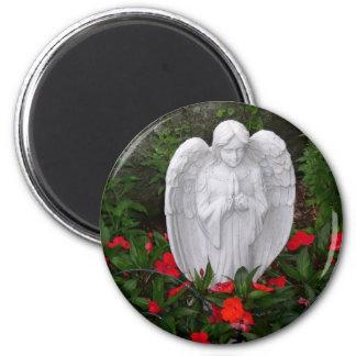 Garden angel magnet