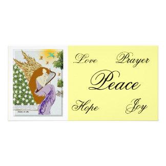 Garden Angel Picture Card