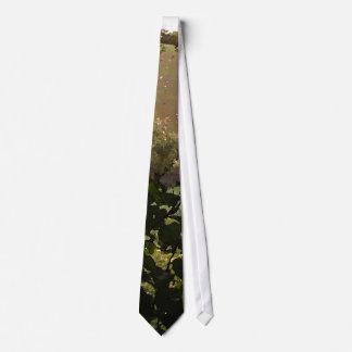Garden Arch Watercolor Tie