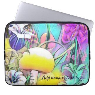 Garden art laptop sleeve