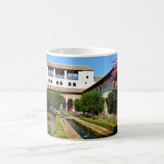 Garden at Alhambra Coffee Mug