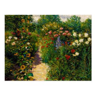 Garden at Giverny Postcard