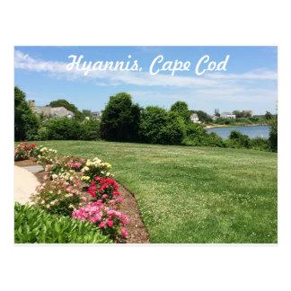 Garden at the JFK Memorial, Cape Cod Postcard