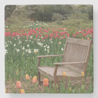 Garden Bench Stone Coaster