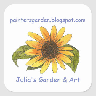 Garden Blog Sticker