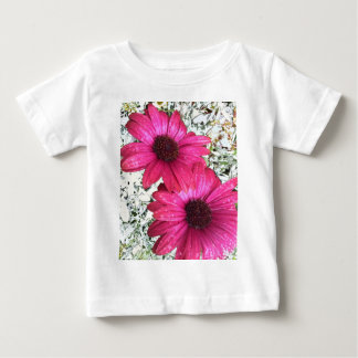 Garden Blooms - Pink Baby T-Shirt