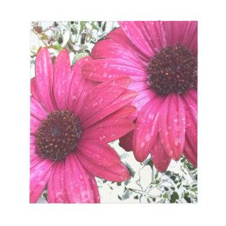 Garden Blooms - Pink Notepad