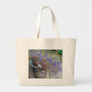 Garden Boot Large Tote Bag