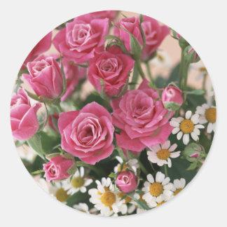 Garden Bounty 1 Classic Round Sticker