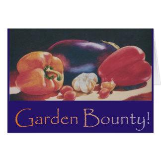 Garden Bounty Card