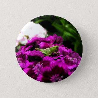 Garden Bouquet 2 Inch Round Button