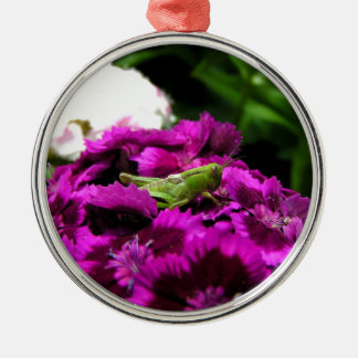 Garden Bouquet Metal Ornament