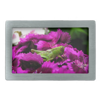 Garden Bouquet Rectangular Belt Buckles