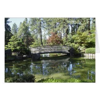 Garden Bridge Card