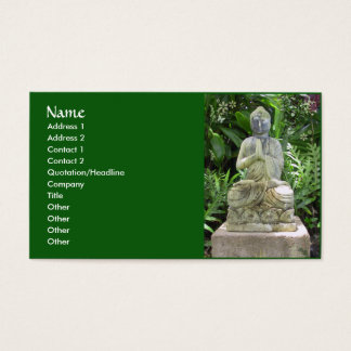 Garden Buddha Business Card