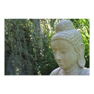 Garden Buddha Photographic Print