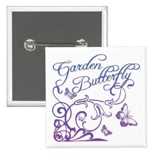Garden Butterfly Pin