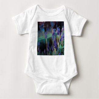 Garden By the Pond at Twilight Baby Bodysuit