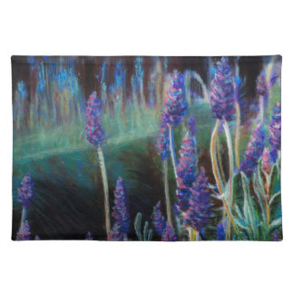 Garden By the Pond at Twilight Placemat