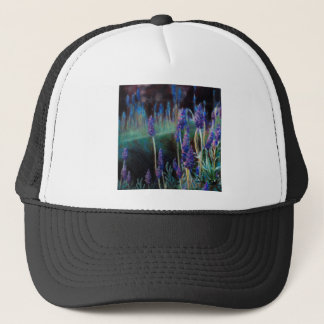 Garden By the Pond at Twilight Trucker Hat