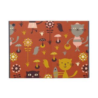 Garden cats cases for iPad mini
