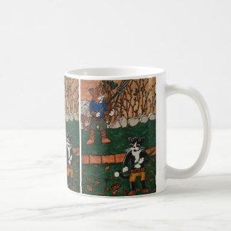 Garden Cats Coffee Mug