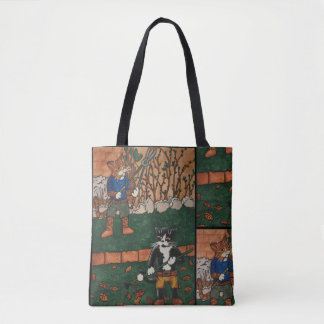 Garden Cats Tote Bag