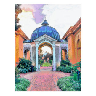 Garden, City Park, New Orleans Postcard