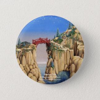 Garden Cliffs, Garden Cliffs Darlene P. Coltra... 2 Inch Round Button
