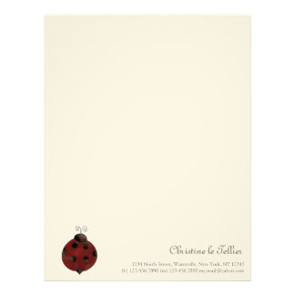 Garden Collection · Ladybug Letterhead