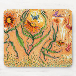 """Garden Dance"" Mousepad"