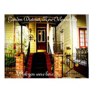 Garden District, New Orleans La Postcard